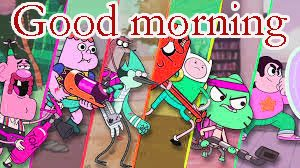 Cartoon Good Morning Images pictures Free Download