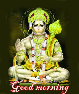 Subh Mangalwar Hanuman Ji Good Morning Images Photo Download