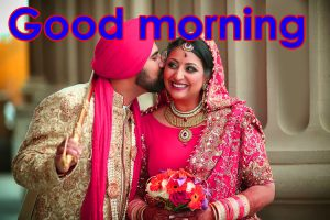 Punjabi Couple Free HD Good Morning Photo Pics Download