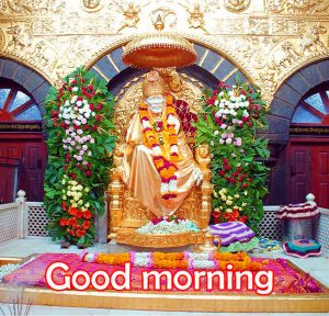 Religious Good Morning Images Wallpaper Pics With Sai Baba