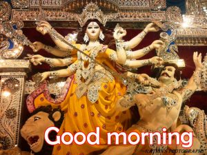 Religious Good Morning Images Wallpaper Pics With Maa Durga