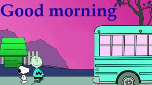 Snoopy Good Morning Images Wallpaper Download