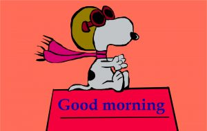 Snoopy Good Morning Images Photo HD Download