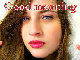 Beautiful Girls Good Morning Images Photo Pics HD
