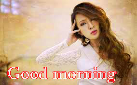 Beautiful Girls Good Morning Images Photo HD