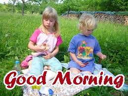 Brother and Sister Good Morning Images Wallpaper Download