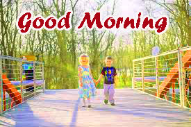 Brother and Sister Good Morning Images Pictures HD Download
