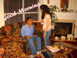 Brother and Sister Good Morning Images Photo Pics Download