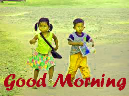 Brother and Sister Good Morning Images Photo Download
