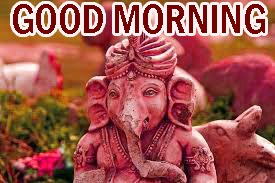 God Good Morning Images Pictures Wallpaper HD Download With Lord Ganesha