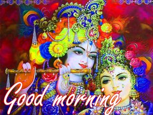Radha Krishna Good Morning Images HD Download