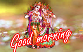Radha Krishna Good Morning Images Wallpaper HD
