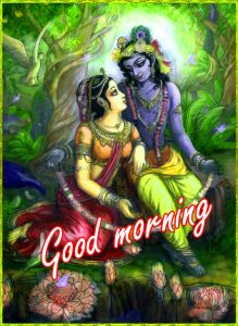 Radha Krishna Good Morning Images Pics HD