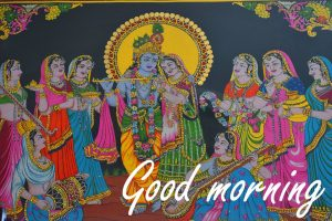 Radha Krishna Good Morning Images Photo Download