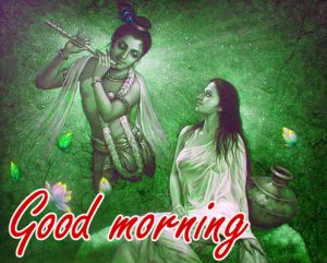 Radha Krishna Good Morning Images Photo HD