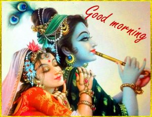 Radha Krishna Good Morning Images Photo Pics HD Download