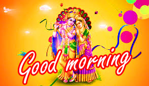 Radha Krishna Good Morning Images Photo Download In HD