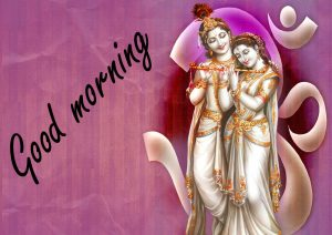 Radha Krishna Good Morning Images Pictures Download