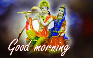 Radha Krishna Good Morning Images Photo HD Download
