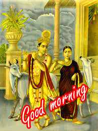 Radha Krishna Good Morning Images Wallpaper Download