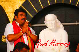 Sai Baba Good Morning HD Wishes Images Pictures Download