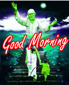 Sai Baba Good Morning HD Wishes Images Photo Download