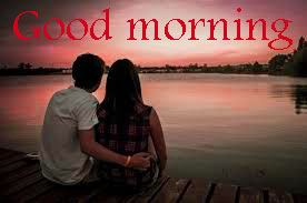 HD Love Couple good morning photo pics download for Wife