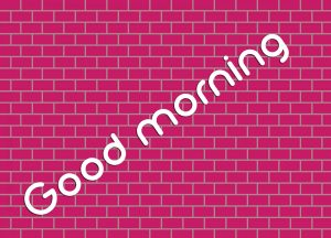 3d Good Morning Images Photo Pics Free Download